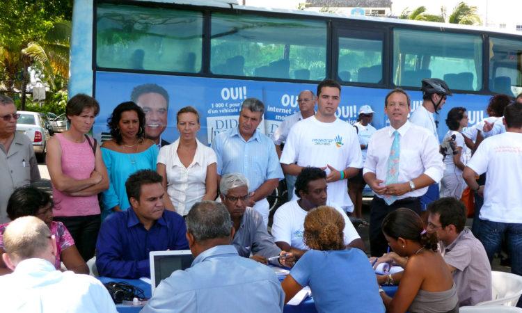 En 2010 la Liste de l'Union « La Réunion en Confiance » présente son projet pour les Régionales. (...)