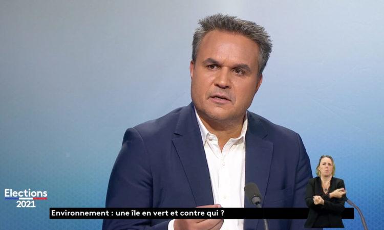 Revoir le Débat du 2nd tour des Régionales de Réunion la1ère avec Didier ROBERT. (...)